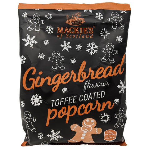 Mackie's Gingerbread Toffee Coated Popcorn 170g - Blighty's British Store
