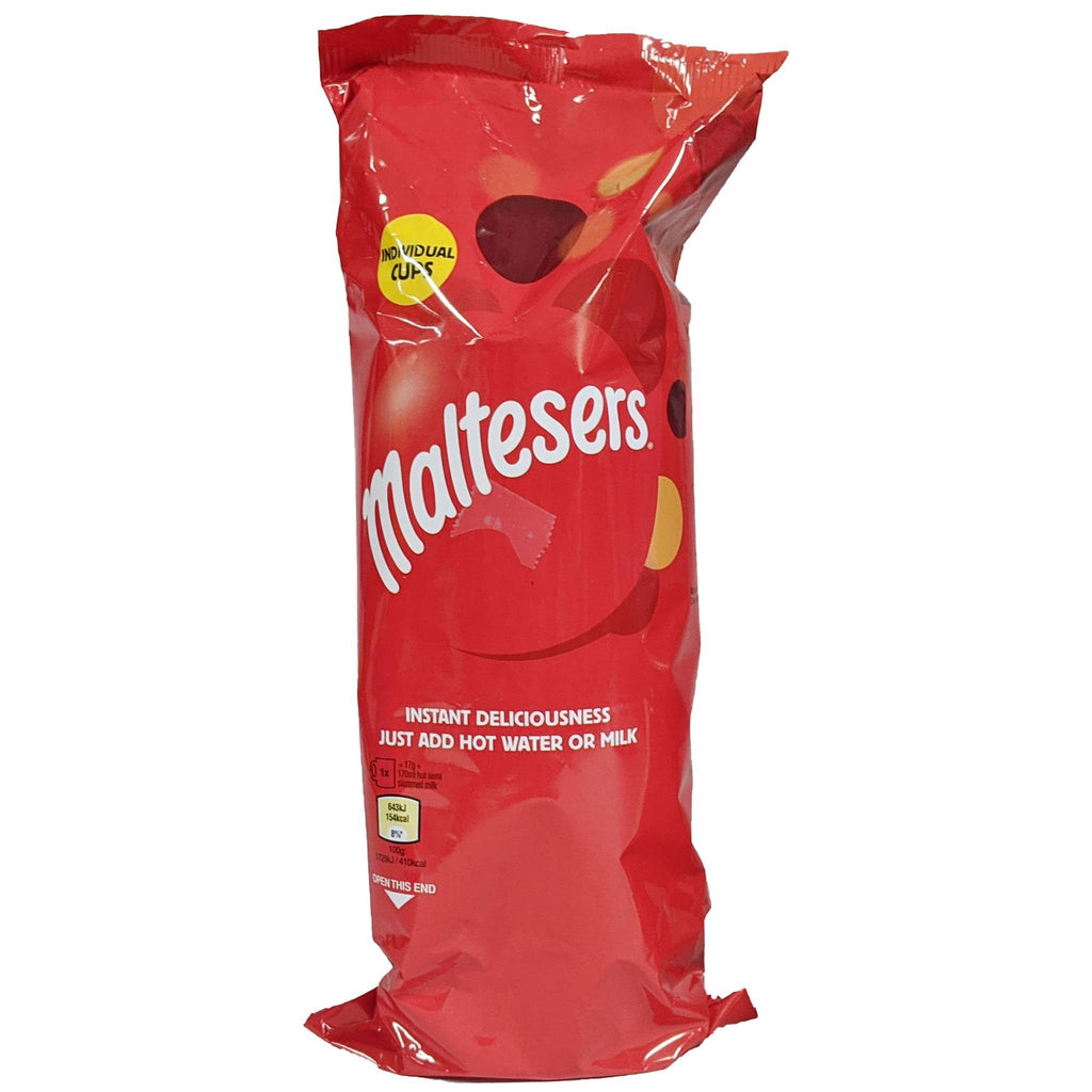 Maltesers Instant Hot Chocolate Cups 7 Pack (7 x 17g) - Blighty's British Store
