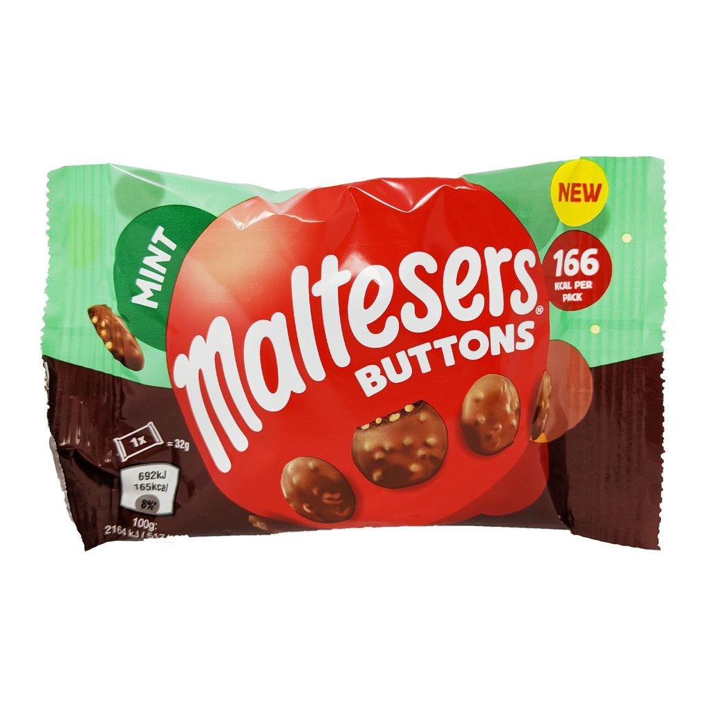 Maltesers Mint Buttons 32g - Blighty's British Store