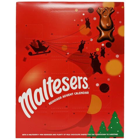 Maltesers Reindeer Advent Calendar 108g - Blighty's British Store