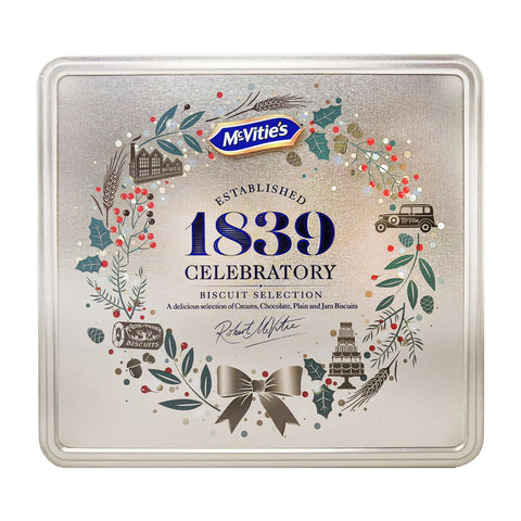 McVitie's Heritage Biscuit Selection Tin 400g - Blighty's British Store