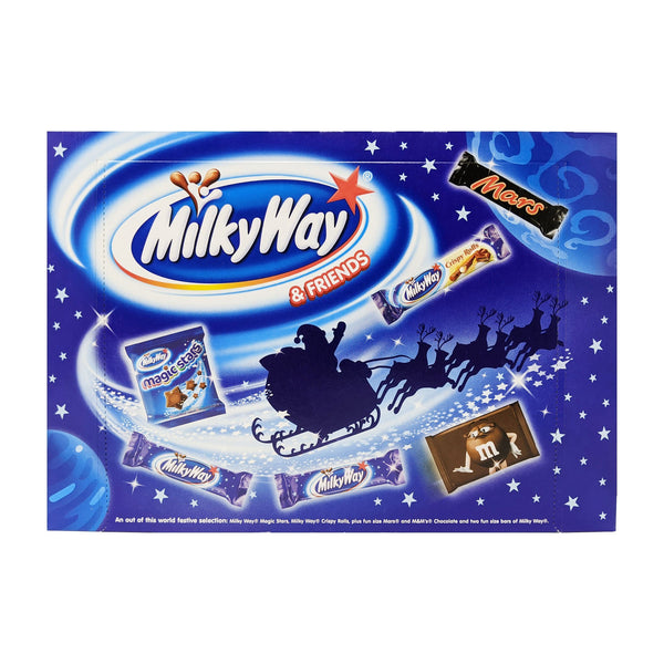 Milky Way & Friends Selection Box 127g - Blighty's British Store