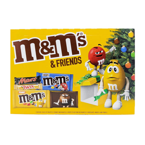 M&M's & Friends Selection Box 139g - Blighty's British Store