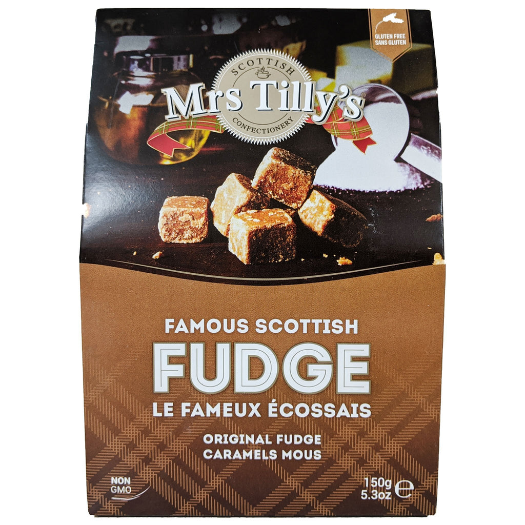 Mrs. Tilly's Famous Scottish Fudge Original 150g - Blighty's British Store