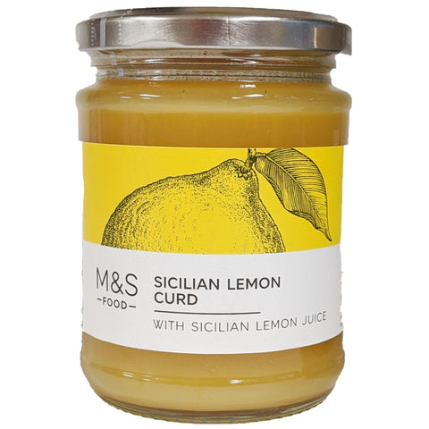 M&S Sicilian Lemon Curd 325g - Blighty's British Store