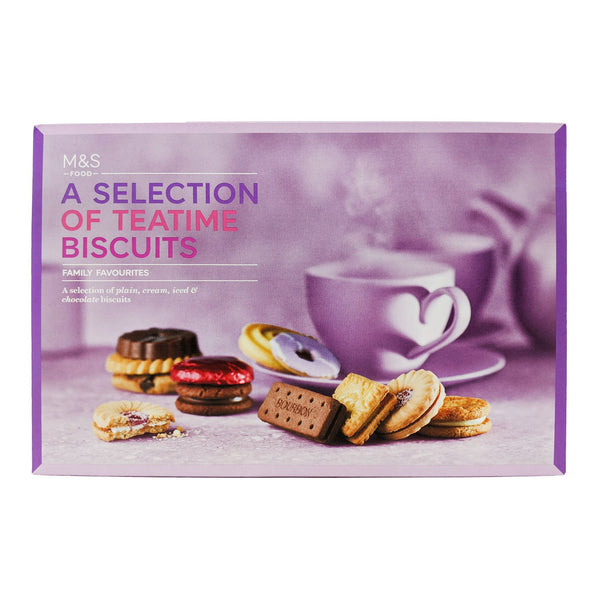 M&S Teatime Biscuits Selection 455g - Blighty's British Store