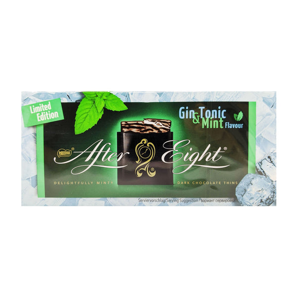 Nestle After Eight Gin & Tonic Mint Thins 200g - Blighty's British Store