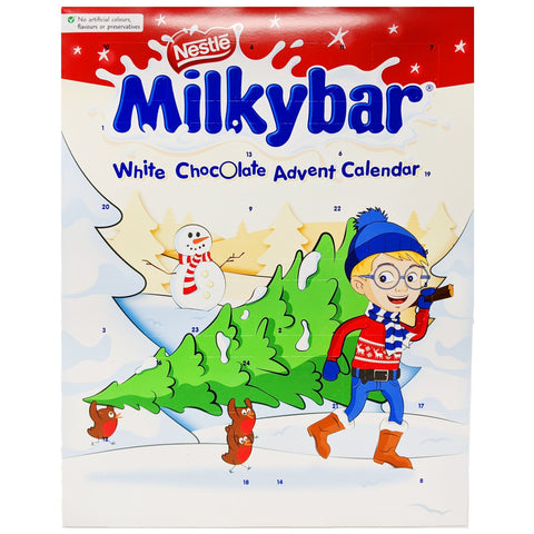 Nestle Milkybar White Chocolate Advent Calendar 85g - Blighty's British Store
