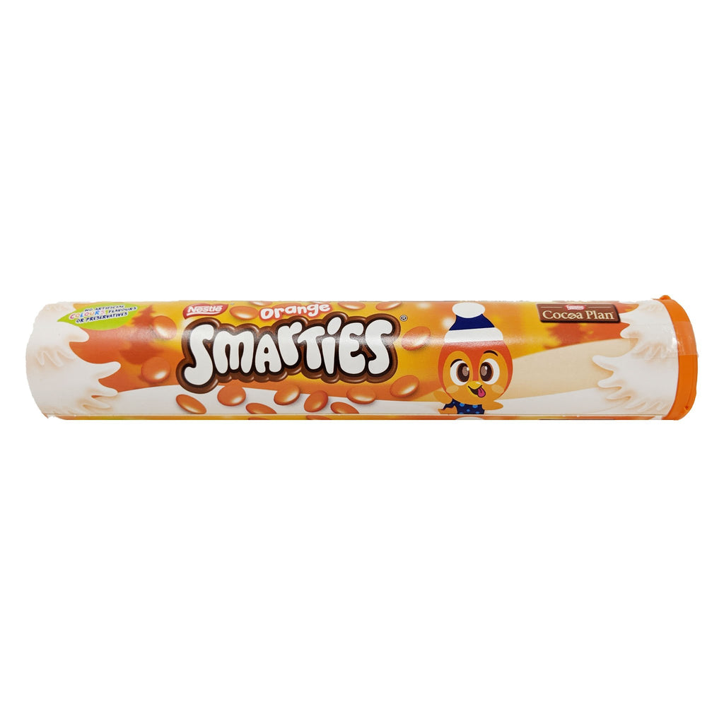 Nestle Orange Smarties Tube 130g - Blighty's British Store