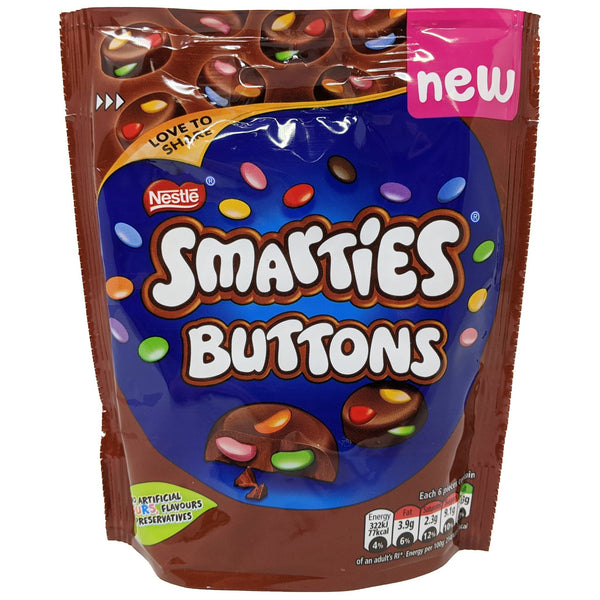 Nestle Smarties Buttons 90g - Blighty's British Store
