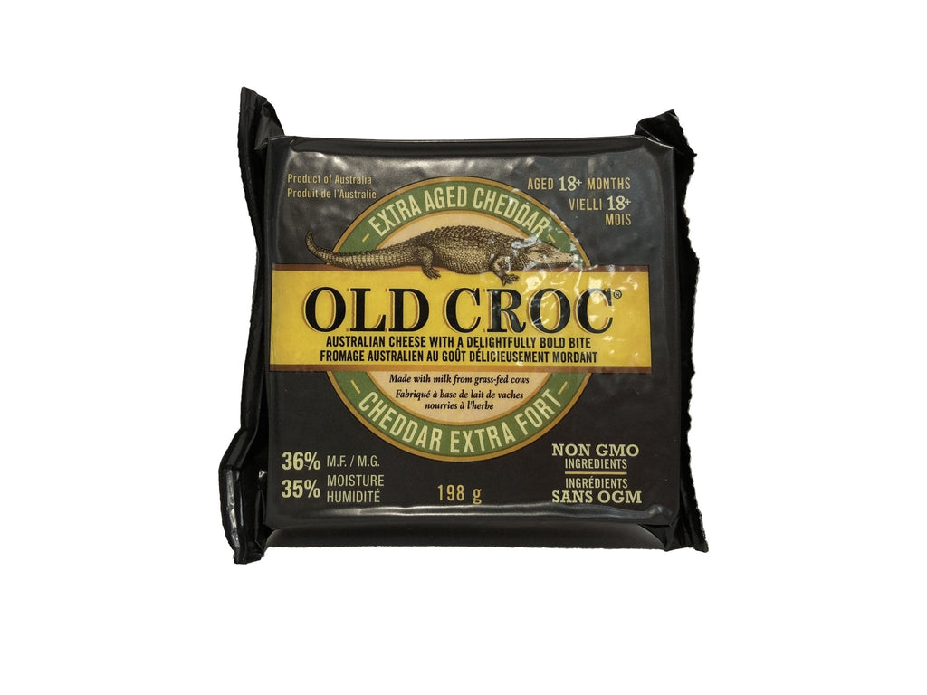 Old Croc Extra Aged Cheddar - Blighty's British Store