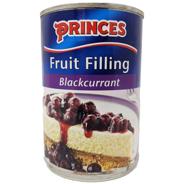 Princes Blackcurrant Fruit Filling 410g - Blighty's British Store