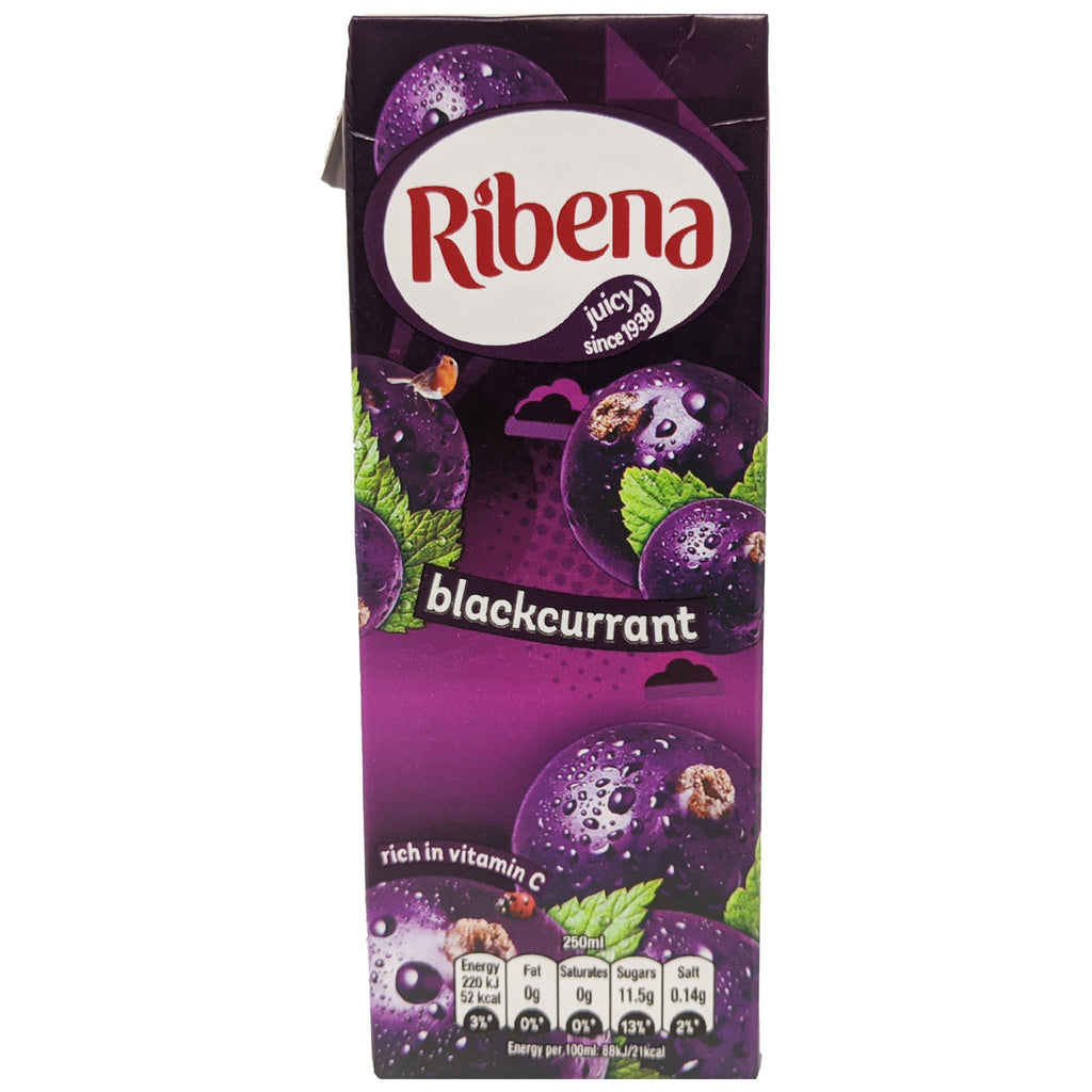 Ribena Blackcurrant 250ml - Blighty's British Store