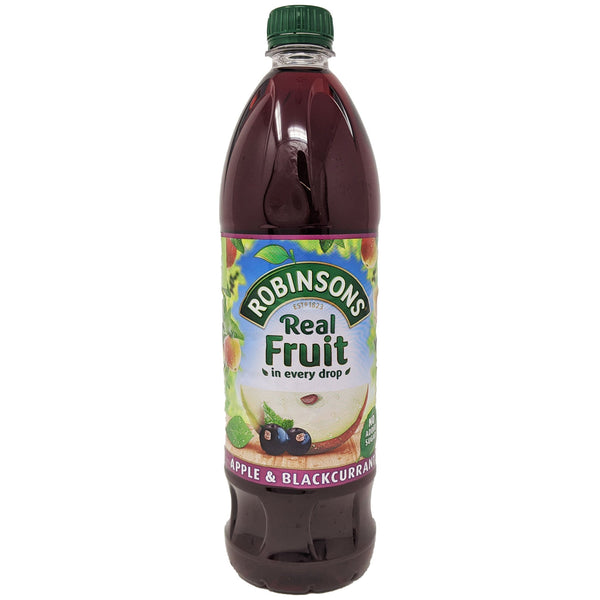 Robinson's Real Fruit Apple & Blackcurrant 1L - Blighty's British Store