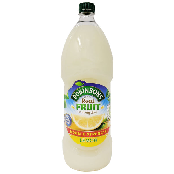 Robinson's Real Fruit Lemon Double Strength 1.75L - Blighty's British Store