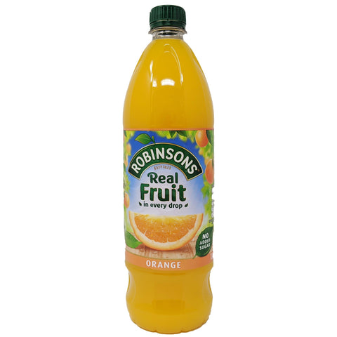 Robinson's Real Fruit Orange 1L - Blighty's British Store