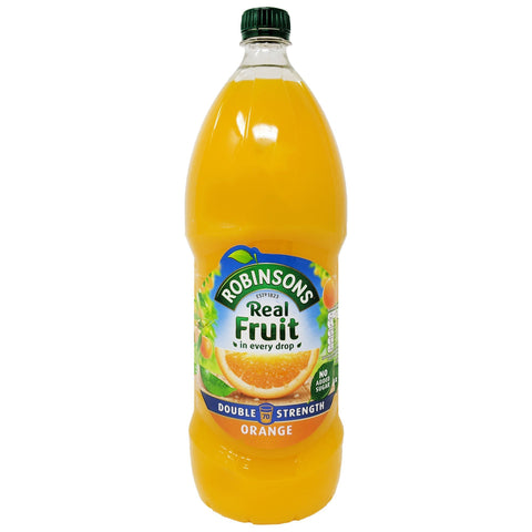 Robinson's Real Fruit Orange Double Strength 1.75L - Blighty's British Store