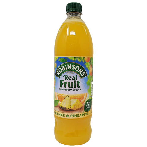 Robinson's Real Fruit Orange & Pineapple 1L - Blighty's British Store