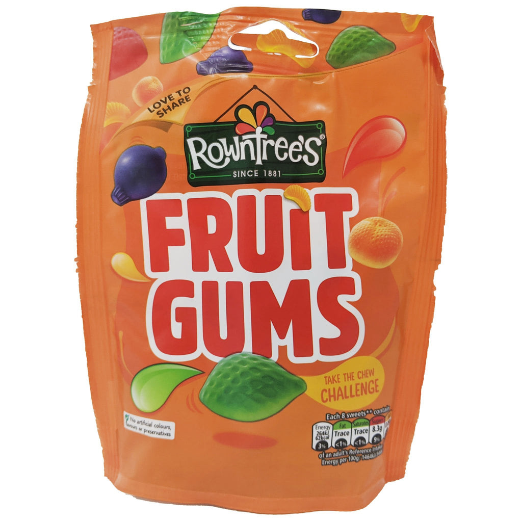 Rowntree's Fruit Gums 150g - Blighty's British Store
