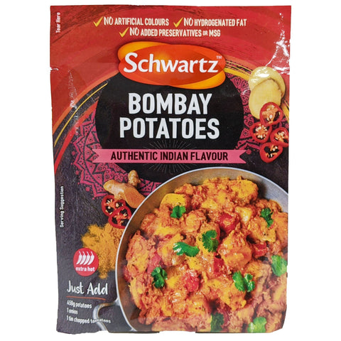 Schwartz Bombay Potatoes 33g - Blighty's British Store