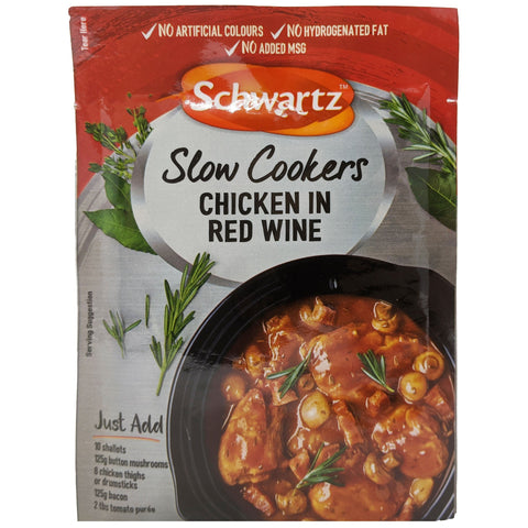 Schwartz Chicken In Red Wine 35g - Blighty's British Store