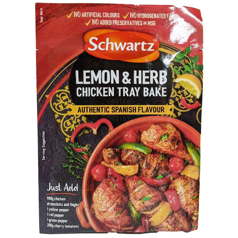 Schwartz Lemon & Herb Chicken Tray Bake 30g - Blighty's British Store
