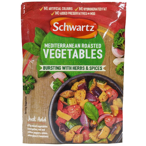 Schwartz Mediterranean Roasted Vegetables 30g - Blighty's British Store