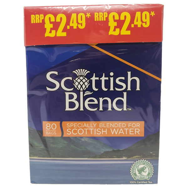 Scottish Blend Tea 80 Bags - Blighty's British Store