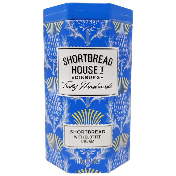 Shortbread House of Edinburgh Shortbread with Clotted Cream 140g - Blighty's British Store