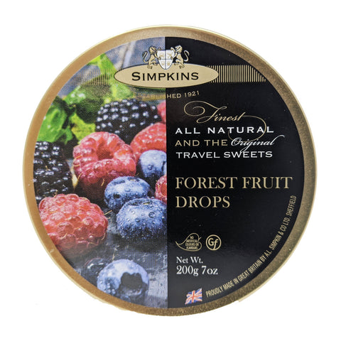 Simpkins Forest Fruit Drops 200g - Blighty's British Store