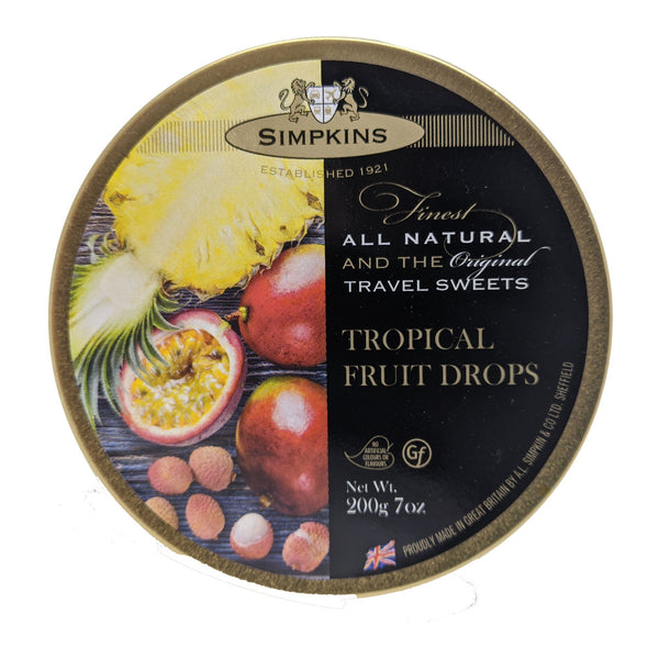 Simpkins Tropical Fruit Drops 200g - Blighty's British Store