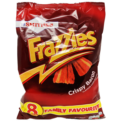 Smiths Frazzles Crispy Bacon 8 Pack (8 x 18g) - Blighty's British Store