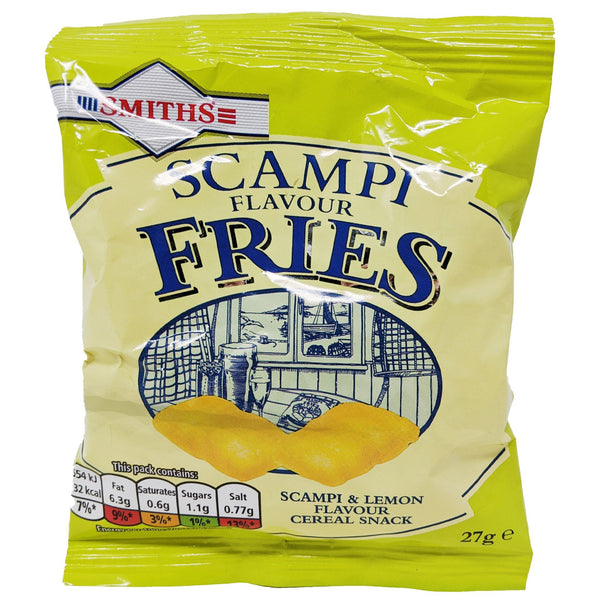 Smiths Scampi Fries 27g - Blighty's British Store