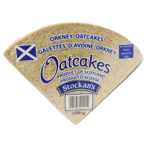 Stockan's Orkney Oatcakes 100g - Blighty's British Store