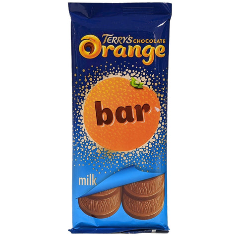 Terry's Chocolate Orange Bar Milk Chocolate 90g - Blighty's British Store