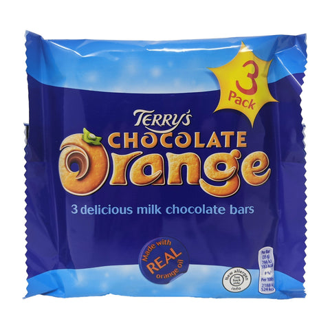 Terry's Chocolate Orange Bars 3 Pack (3 x 35g) - Blighty's British Store