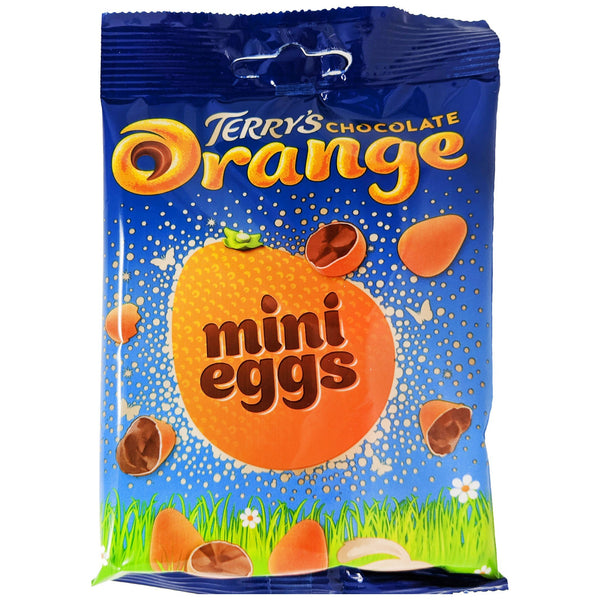 Terry's Chocolate Orange Mini Eggs 80g - Blighty's British Store