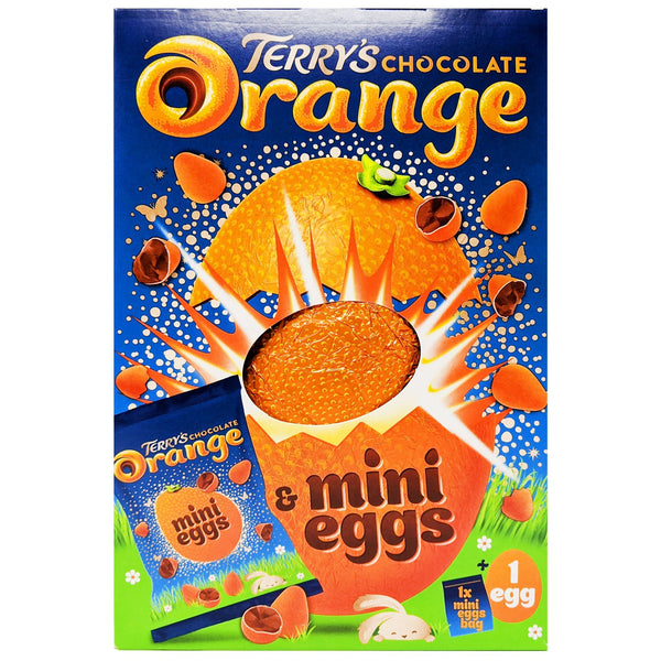 Terry's Chocolate Orange Mini Eggs Easter Egg 260g - Blighty's British Store