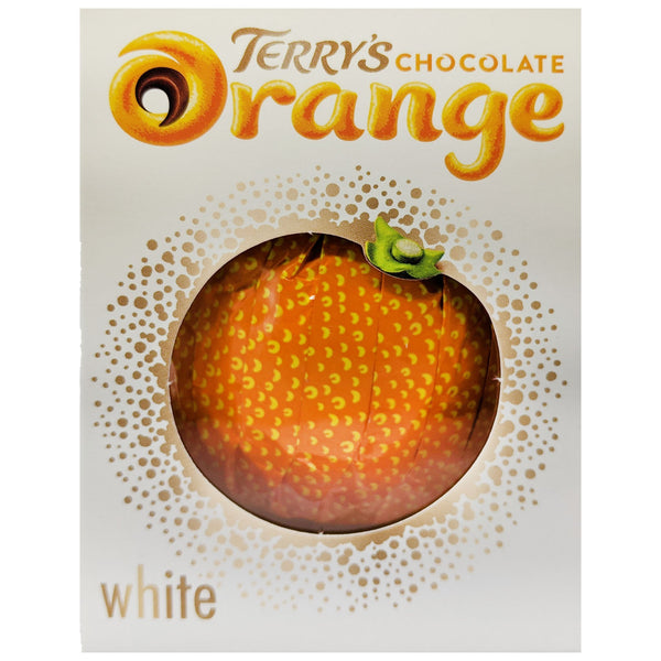 Terry's Chocolate Orange White Chocolate 147g - Blighty's British Store