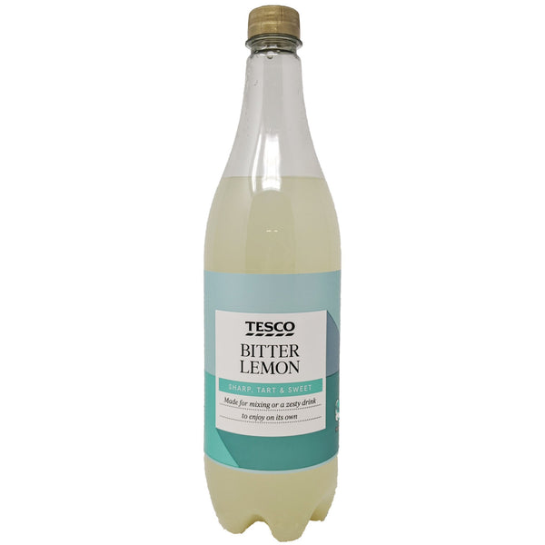Tesco Bitter Lemon 1L - Blighty's British Store