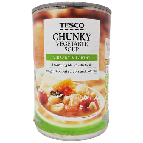 Tesco Chunky Vegetable Soup 400g - Blighty's British Store