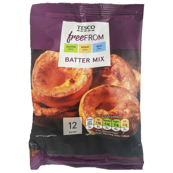 Tesco Free From Batter Mix 100g - Blighty's British Store