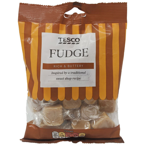 Tesco Fudge 175g - Blighty's British Store