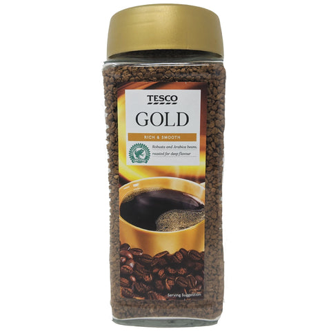 Tesco Gold Coffee 200g - Blighty's British Store