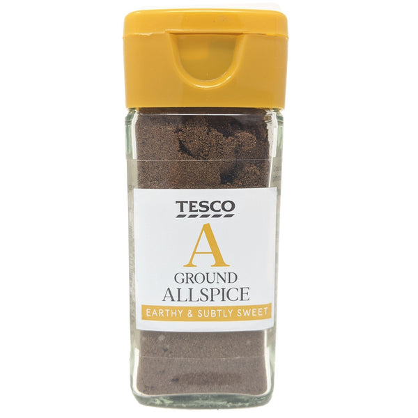 Tesco Ground Allspice 33g - Blighty's British Store