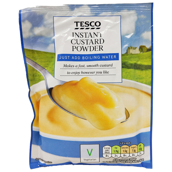 Tesco Instant Custard Powder 76g - Blighty's British Store