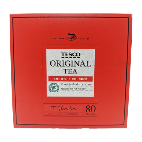Tesco Original Tea 80 Bags - Blighty's British Store