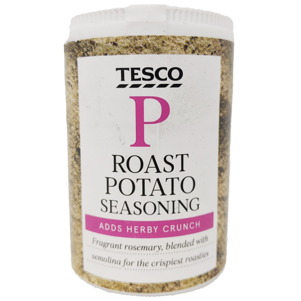 Tesco Roast Potato Seasoning 84g - Blighty's British Store