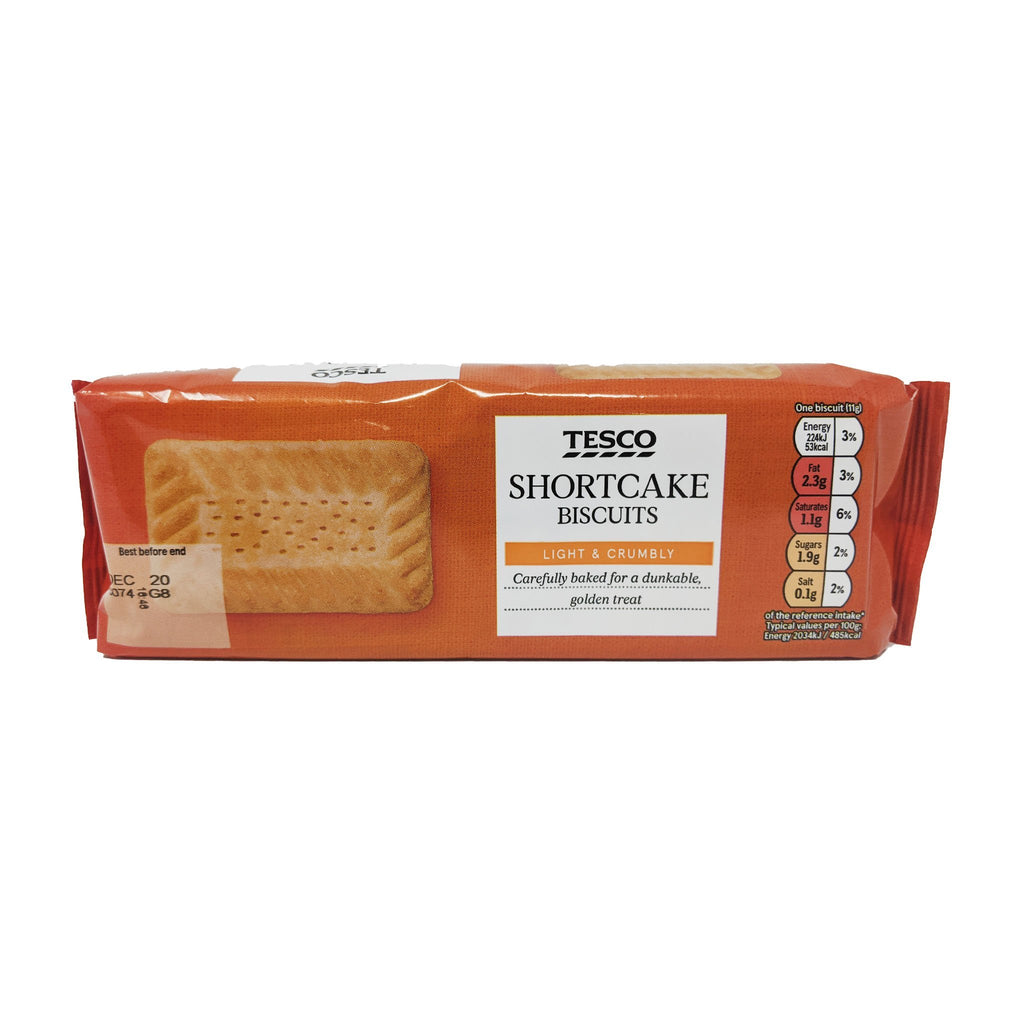 Tesco Shortcake Biscuits 200g - Blighty's British Store