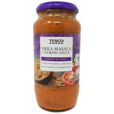 Tesco Tikka Masala Cooking Sauce 500g - Blighty's British Store